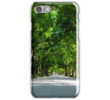 Green crowns iPhone Case/Skin