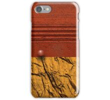 red horizion iPhone Case/Skin