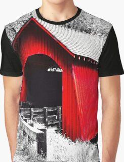 Yachats Oregon - Yachats Bridge Graphic T-Shirt