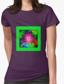 Flowers 0011 Womens Fitted T-Shirt
