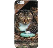 Lilttle Miss Crumpled Ears iPhone Case/Skin
