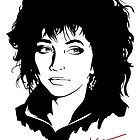 Kate Bush by drawingbusiness
