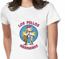 Pollos Hermanos - Vivid Color Variant Womens Fitted T-Shirt