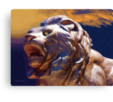 Rough Majesty Canvas Print