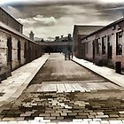 Elsecar Heritage Centre - Water colour effect by Glen Allen