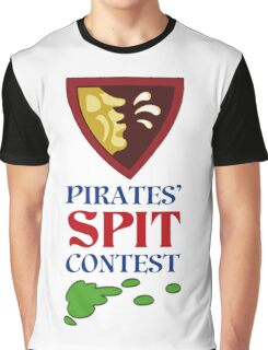 MONKEY ISLAND 2 - PIRATES SPIT CONTEST Graphic T-Shirt
