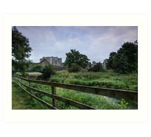 Kells Priory - Ireland Art Print
