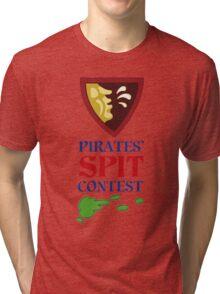 MONKEY ISLAND 2 - PIRATES SPIT CONTEST Tri-blend T-Shirt