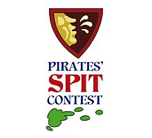 MONKEY ISLAND 2 - PIRATES SPIT CONTEST Photographic Print