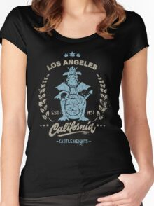 Castle Heights Elementary School Women's Fitted Scoop T-Shirt