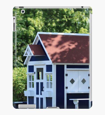 playhouse in the garden iPad Case/Skin