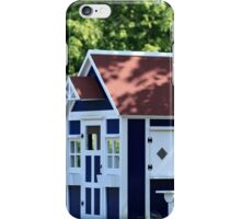 playhouse in the garden iPhone Case/Skin