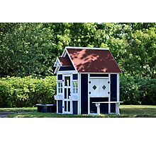 playhouse in the garden Photographic Print