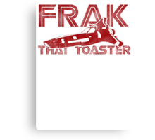 Frak That Toaster - Light Colors Canvas Print