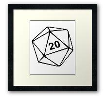 Dungeons & Dragons inspired Framed Print