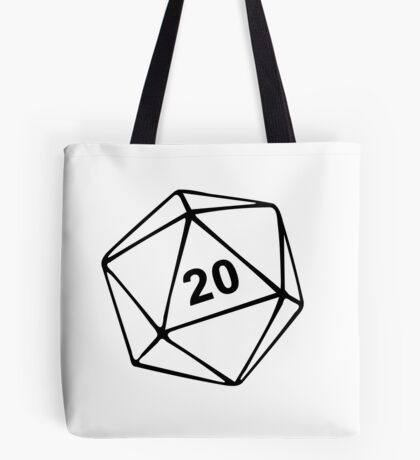 Dungeons & Dragons inspired Tote Bag