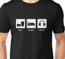 eat sleep kpop Unisex T-Shirt