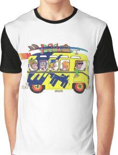 VW Camper. Surfs Up Dude. Graphic T-Shirt