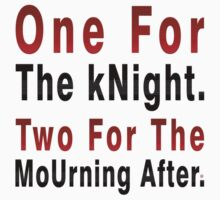 One Knight Two Mourning by Vy Solomatenko
