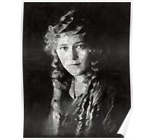 Mary Pickford Vintage Actress Poster