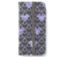 Mouse Ears Watercolor in Lilac iPhone Wallet/Case/Skin