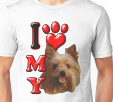 I Love My Yorkie Unisex T-Shirt