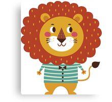 Lil Lion Canvas Print