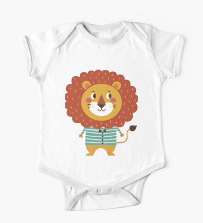 Lil Lion One Piece - Short Sleeve