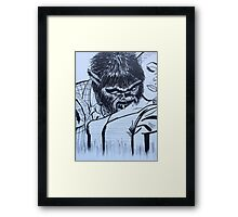 by night  Framed Print