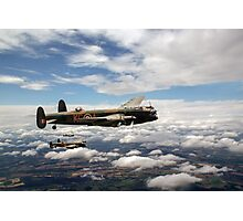 617 Squadron Tallboy Lancasters Photographic Print