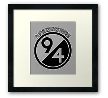 US 94TH INFANTARY DIVISION Framed Print