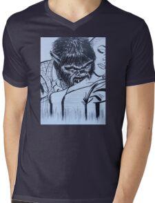 by night  Mens V-Neck T-Shirt