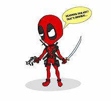 Deadpool chibi by Ben Edwards