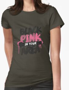 BLACKPINK in your area Womens Fitted T-Shirt