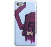 helmet of galactus iPhone Case/Skin