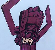 helmet of galactus by Slakin