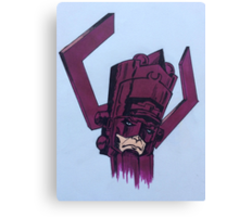 helmet of galactus Canvas Print