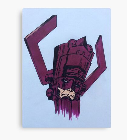 helmet of galactus Canvas Print