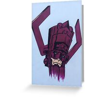helmet of galactus Greeting Card