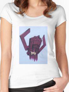 helmet of galactus Women's Fitted Scoop T-Shirt