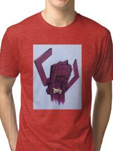 helmet of galactus Tri-blend T-Shirt
