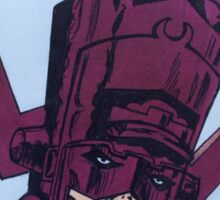 helmet of galactus Sticker