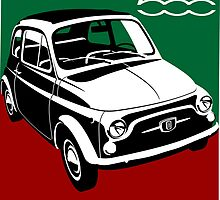 Classic Fiat 500F by car2oonz