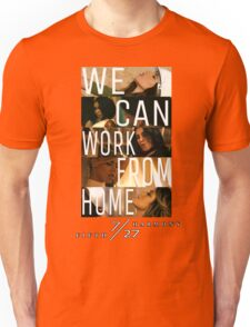 FIFTH HARMONY PHOTOSHOOT, WE CAN WORK FROM HOME Unisex T-Shirt