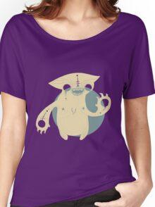 Monster Cat Women's Relaxed Fit T-Shirt