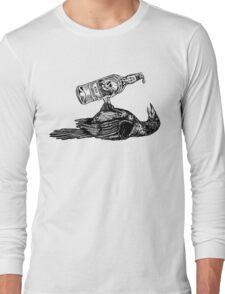 Drunk Crow Long Sleeve T-Shirt