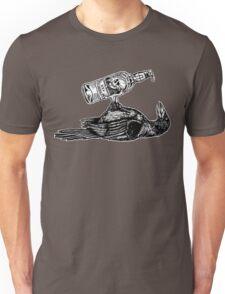 Drunk Crow Unisex T-Shirt