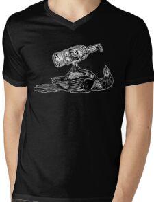 Drunk Crow Mens V-Neck T-Shirt