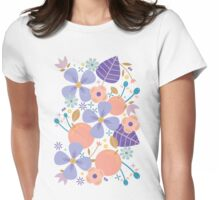 Just Peachy Womens Fitted T-Shirt