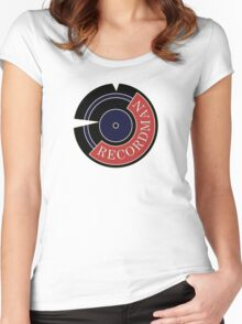 Recordman Women's Fitted Scoop T-Shirt